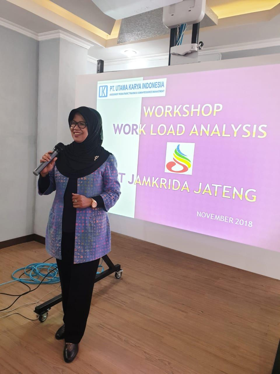 WORKSHOP WORK LOAD ANALYSIS PT JAMKRIDA JATENG